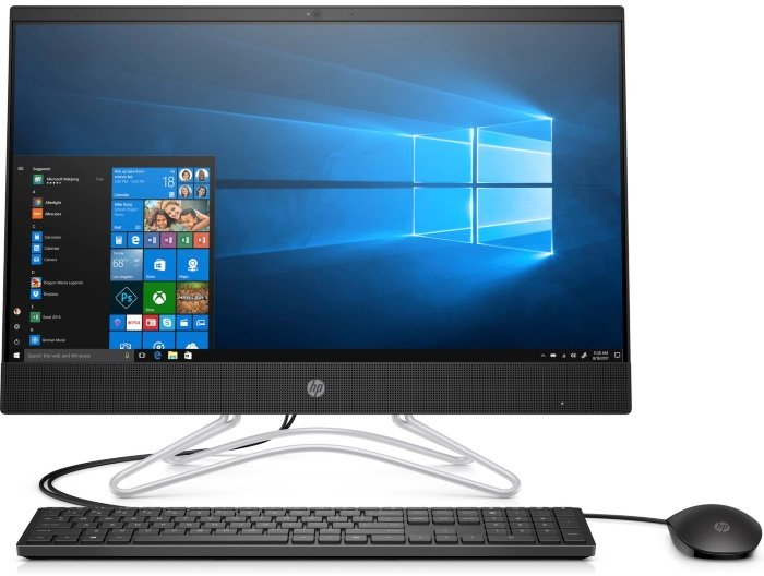 Моноблок HP 24-f0021ur (4GV31EA)Моноблоки<br>23.8(1920x1080)Pen-J5005(1.5Ghz)4Gb 1Tb HDD NVIDIA GeForce MX110  2GbЧерный