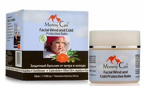 MOMMY CARE Бальзам для защиты от ветра и холода Wind and cold protective balm, 50 мл [2393]Уход за кожей малышей<br>