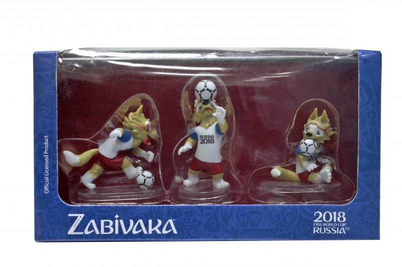 FIFA-2018 фигурки Zabivaka set №3(header)6см [Т11675] Т11675