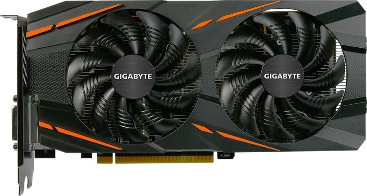Видеокарта Gigabyte PCI-E Radeon RX 570 8GB (GV-RX570GAMING-8GD-MI) BlackВидеокарты<br>8Gb 256bit GDDR5DirectX 12, OpenGL 4.5HDMI, DVI-D, DisplayPort x 3PCI-Express x16(GV-RX570GAMING-8GD-MI)