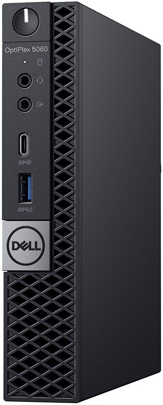 Настольный компьютер Dell OptiPlex 5060 Micro (5060-7670)Настольные компьютеры<br>i5-8500T(2.1Ghz)8 Gb1Tb HDDне установленGb SSDUHD Graphics 630 Win10 Pro (64 bit)Черный